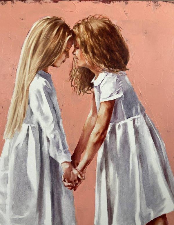 Oil Painting Friendship by Igor Shulman