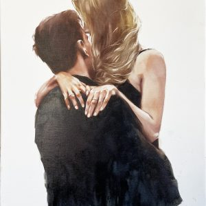 Oil Painting Either a Meeting or Parting by Igor Shulman
