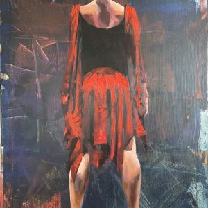 Oil Painting Pause by Igor Shulman