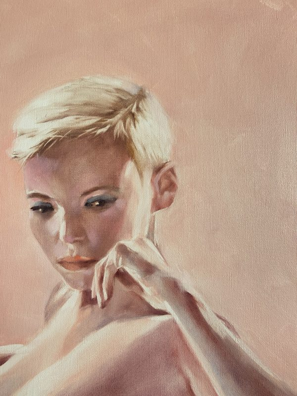Oil Painting Pink Life by Igor Shulman