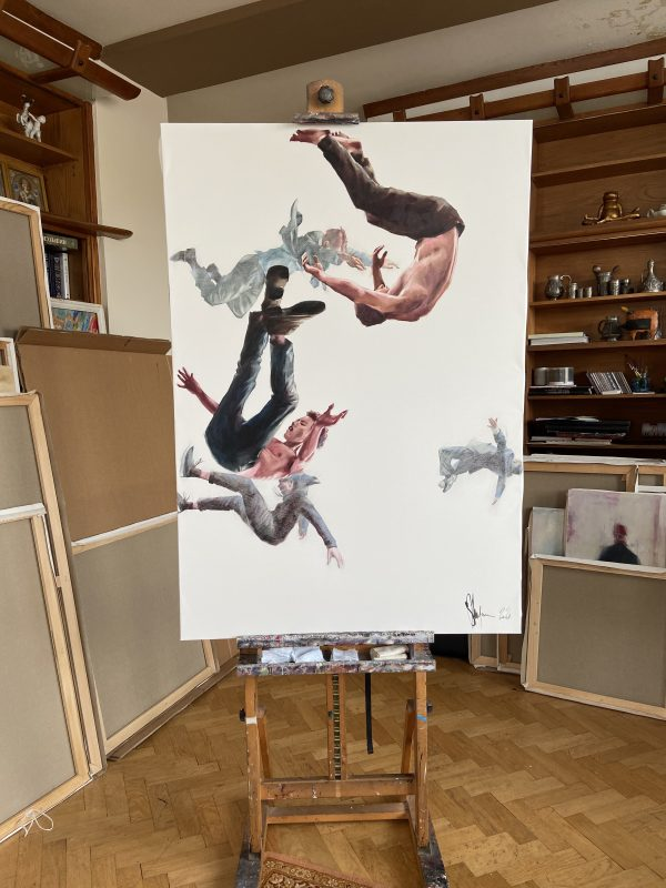 """Oil Painting """"Project Gravity #16"""" by Igor Shulman"""