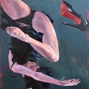 Oil Painting Gravity#14 by Igor Shulman