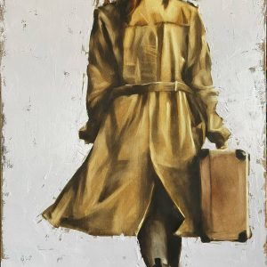 When You Leave Go Oil Painting by Igor Shulman
